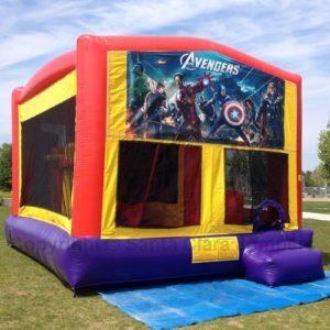 Avengers 5n1 Obstacles Combo Slide