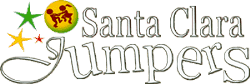 Santa Clara Jumpers Party Rentals Logo