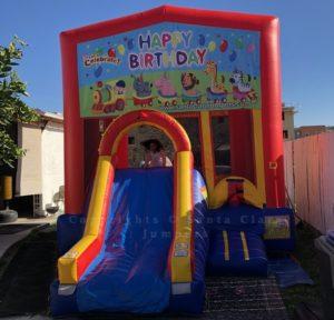 mini combo slide happy birthday